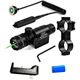 Wenxy Green Laser Sight System High Powered Tactical GreenLaser with Picatinny Rail Mount
