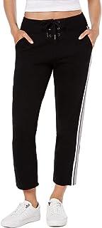 سروال رياضي نسائي من Calvin Klein بشريط شريطي ورباط حتى الكاحل