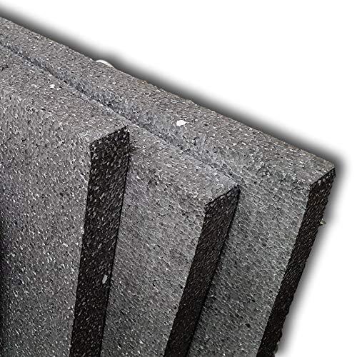 IMBALLAGGI 2000-10 Pannelli in polistirolo e grafite - 100x50x3cm - Pannelli per isolamento termico - Densità 20Kg/mq - Isolamento migliorato ideali per cappotto termico (10)