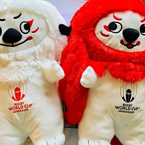 ラグビーワールドカップ 2019 レンジー ぬいぐるみ XL 全2種セット ワールドインユニオン ラグビーボール R...