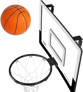 BOROK Panier de Basketball avec Anneau et Filet Mini Basketballkorb Jouet de Plein Air Mini Panier de Basket Enfant Loisir Sport Basketball