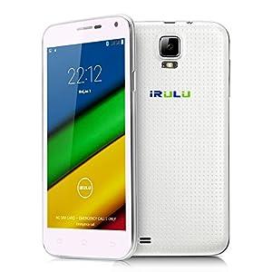 IRULU Universe 1s (U1s) Phone 5 Inch 3G Unlocked Smartphone Android 4.4 4GB - White ¡