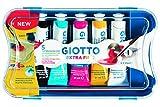 Giotto scatola con 5 tubetti 21ml tempera extrafine