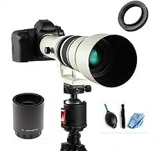 لنز دوربین دستی لنز تله فوتو JINTU 500mm / 1000mm f / 8 for DSLR Canon EOS 2000D 4000D 90D 80D 70D 60D 50D 40D 650D 600D 750D 700D 700D 550D 450D 7D II 6D 5D 5DS 1Ds Rebel T6s T6i T6 T5i T5 T4i T3i T3i