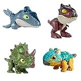 Mattel Pack 4 Snap Squad Jurassic World Camp Cretaceous