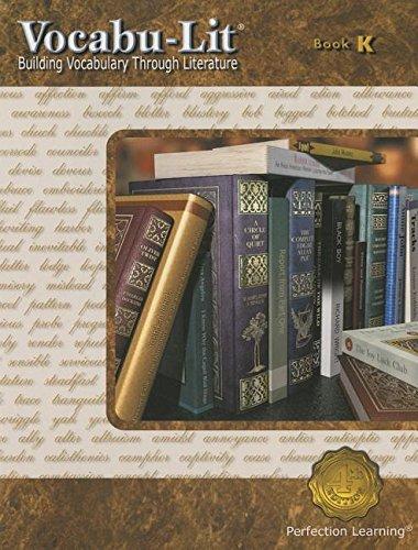 Vocabu-Lit: Building Vocabulary Through Literature Book K