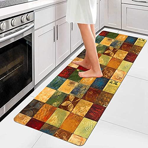 AIYOUVM Rutschfester Teppich Läufer Küche (108 Größen und 5 Farben) Lauferteppich Flur rutschfest Weiche Oberfläche Einfach zu Säubern, Flur Teppich für Wohnzimmer Flur Küche 40x100cm