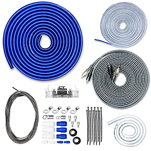 CT Sounds 4 Gauge CCA Complete Amp Wiring Install Kit, AMPKIT-4GA-PRO
