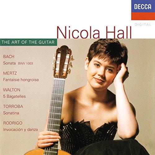 J.S. Bach: Sonata for Violin Solo No.2 in A minor, BWV 1003 - Transcribed for guitar by Nicola Hall - 1. Grave