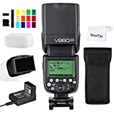 Godox V860IIN TTL Flash de cámara HSS 1/8000s integrado Godox 2.4G sistema X inalámbrico GN60 compatible con cámaras Nikon