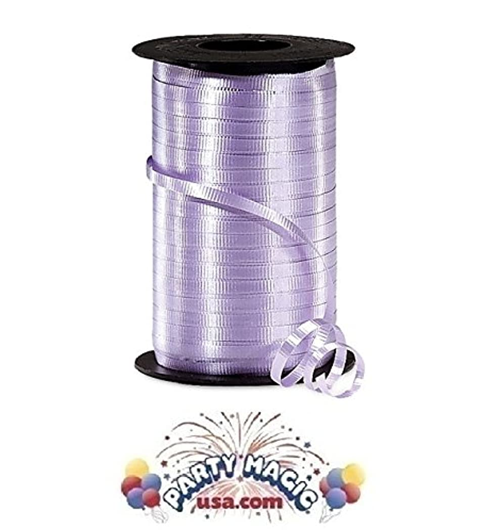 Orchid Crimped Curling Ribbon, 3/16