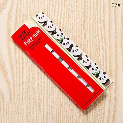 8pcs/lot Kawaii Cartoon Animals Cat Panda Memo Pad Sticky Notes Memo Notebook Stationery Note Paper Stickers School Supplies,8pcs(show as photo)