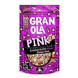 Granola con Chocolate Blanco y Fresas sin Gluten 275 Gramos - Horneada con Aceite de Oliva Virgen Extra - Productos Naturales - Proceso 100% Artesano - Envase Reciclable - La Newyorkina