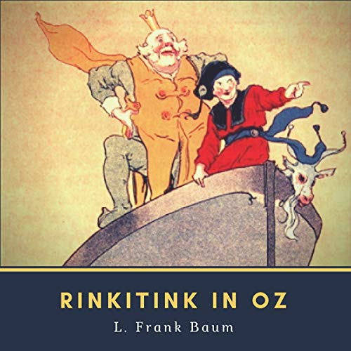 Rinkitink in Oz audiobook cover art