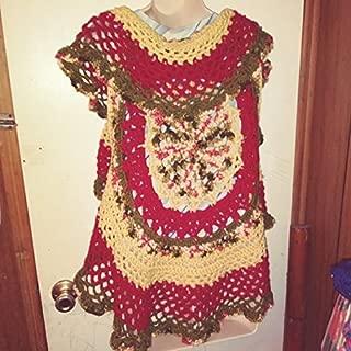 Crochet Mandala Circular Vest