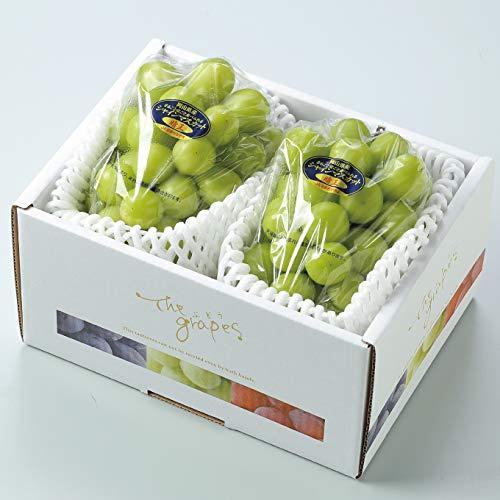 ぶどう シャインマスカット 晴王 特秀 約600g×2房 岡山県産 JAおかやま 葡萄 ブドウ