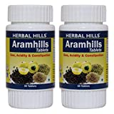 Herbal Hills Aramhills Tablets - Natural Detox, 30 Tablets - (Pack Of 2) candida cleanse supplements May, 2021