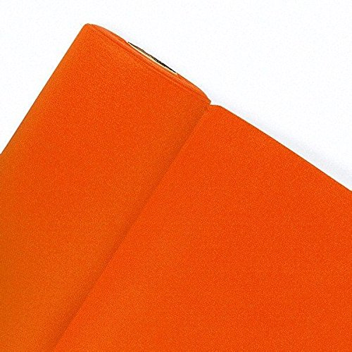 Fêter et recevoir Chemin DE Table 10M*0,4M - Orange