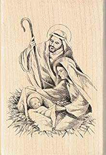 Best nativity rubber stamps Reviews