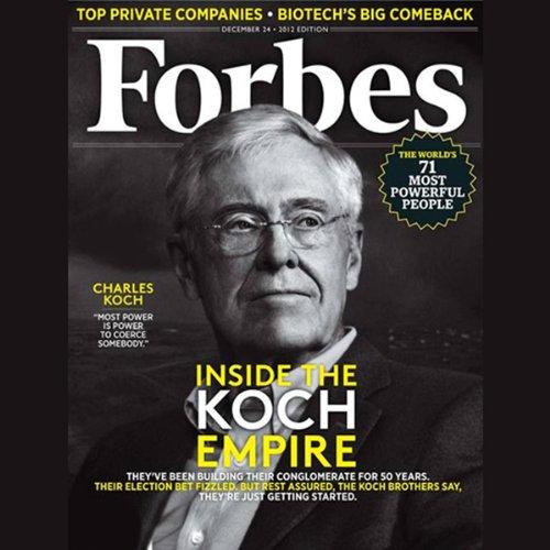 Forbes, December 10, 2012 audiobook cover art