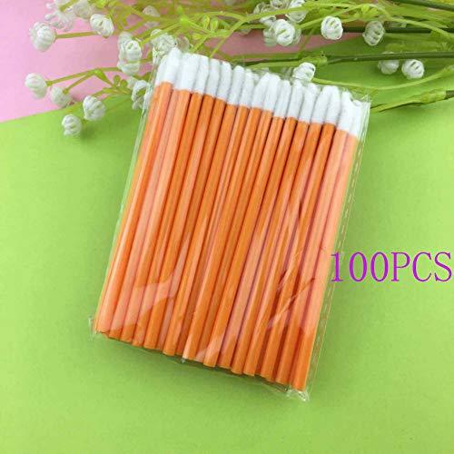 100/50 stks Multi-color Wegwerp Make-up Lippenseel Lippenstift Glans Wands Applicator Make-up Gereedschap