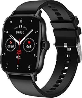 """Smart Watch, Fitness Tracker with 1.69"""" Full Touch Screen, Heart Rate Monitor, Sleep Monitor, Multi Sports Mode, Music Con..."""