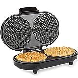Andrew James Waffle Maker | Round Waffle...