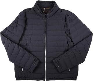 [56] [MOORER] ムーレー ダウンジャケット メンズ 秋冬 ネイビー 紺 TEMISTO 大きいサイズ [19008] [並行輸入品]