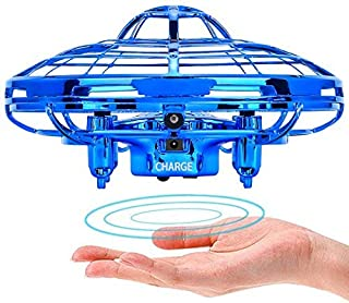 POWERbeast Drones for Kids,Flying Toys for Boys Gifts,Hand Operated Self Flying Drone for Beginner with Obstacle Avoidance,2 Auto Hover Speed Flying Ball,Boys Toys