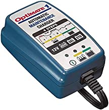 Tecmate Optimate 1, TM-401, 4-Step 12V 0.6A Battery Charger & maintainer