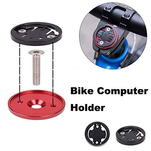 CYSKY Garmin Edge Mount, Fahrradvorbau-Halterung für Garmin Bryton Radfahren GPS Computer, passend für Garmin 1000,820,810,800, 520,510,500,200 und Bryton 530 330 310 100 (Schwarz) - 3