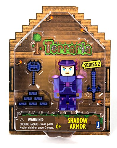 TERRARIA Shadow Armor Figure with Accessories by Terraria