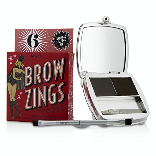 Benefit - Brow Zings (Total Taming Shaping Kit For Brows) - #6 (Deep) 4.35g/0.15oz