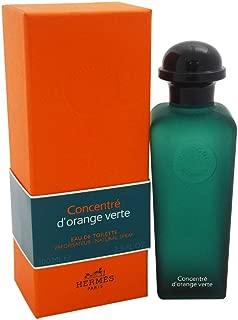 D'orange Verte Concentre for Men By Hermes Eau-de-toilette Spray, 3.3-Ounce