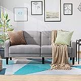 Vongrasig 63'' Small Modern Loveseat Couch,...
