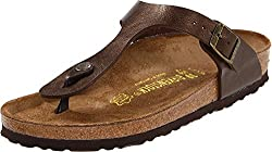 best travel sandals for women Birkenstock Gizeh thong sandals