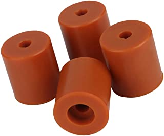 Prettyia 4pcs 3D Printer Accessories Silicone Dampers for Creality CR-10 CR10s Ender 2 Ender 3