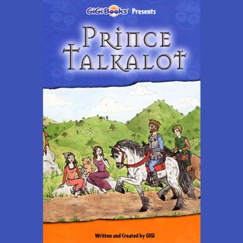 Prince Talkalot audiobook cover art