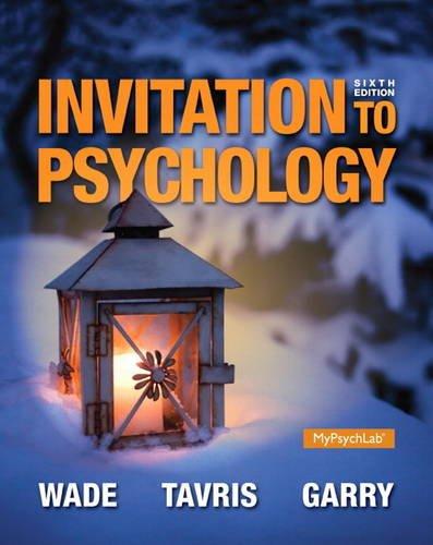 Invitation to Psychology (6th Edition)