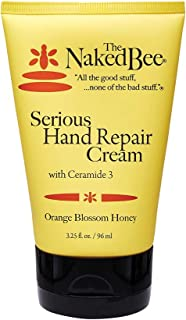 The Naked Bee Orange Blossom Honey Serious Hand Repair Cream, 3.25 Oz