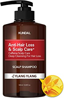 Kundal Scalp Care+ Caffeine Shampoo 500ml (Ylang Ylang)