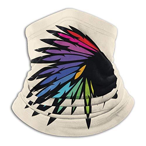 Mathillda Fleece halsdoek Disco - omkeerbare halsdoek - veelzijdige vaatwarmer