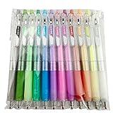 Bolígrafo De Tinta De Gelatina 3D De 12 Piezas De 12 Colores Para Pintar Y Escribir, Material De Papelería Para Estudiantes, Material Escolar Conjunto completo 1