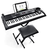 Alesis Melody 61 MKII - 61-Key Portable Keyboard with Built-In Speakers, Headphones, Microphone