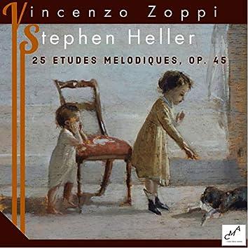 Stephen Heller: 25 Etudes Melodiques, Op. 45