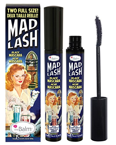 Mad Lash Full Size Duo Voluminous Mascara Set, Black, Cruelty-Free, 0.54 Oz