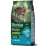 Monge BWild Grain Free Gatto Adult Sterilized Tonno con Piselli 1,5 kg