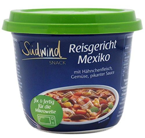 Probierpaket für den Lebensmittelvorrat - verschiedene Fertiggerichte für die Mikrowelle - keine Versandkosten - Südwind Lebensmittel - 7