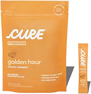 Sponsored Ad - Cure Hydration Mix | Organic Electrolyte Powder | No Added Sugar | Paleo Friendly | Made with Coconut Water...
