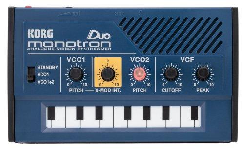 Korg Monotron-Duo Miniatur-Synthesizer Schwarz